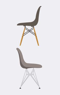 """E"" is for Eames  https://www.houseofhoney.la/design-dictionary/e"