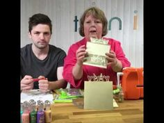 How to Make a Header Fold Card - Tonic Studios Live Tutorial - YouTube