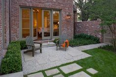 Gravel Patio Design Ideas, Pictures, Remodel, and Decor - page 35 Courtyard Design, Patio Design, Garden Design, Courtyard Ideas, Residential Landscaping, Luxury Landscaping, Landscaping Design, Small Gardens, Outdoor Gardens