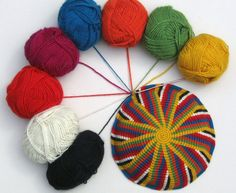 A bunch of tapestry crochet projects described. Tapestry Crochet Patterns, Crochet Motifs, Crochet Stitches Patterns, Crochet Art, Crochet Home, Crochet Crafts, Yarn Crafts, Yarn Projects, Crochet Projects