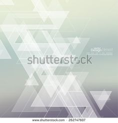 Abstract blurred background with hipster triangles. Triangle pattern background. For cover book, brochure, flyer, poster, magazine, cd cover design, t-shirt - stock vector