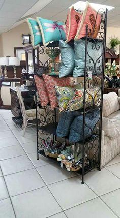 Handmade pillows by local seamstress