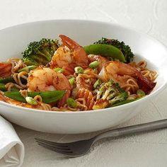 Asian Stir-Fry with Shrimp @Diabetic Living #SpfldClinic #diabetes #recipes