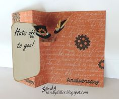 "My ""Crafty"" Life on the Internet: Pop it Ups Card using Steampunk Debutante Paper Collection"
