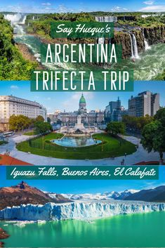 A great way to explore Buenos Aires, Iguazu Falls & El Calafate, on this 8 day trip of a lifetime. Argentina Culture, Visit Argentina, Iguazu Falls, Day Tours, Where To Go, Tango, Cities, Waterfall, Places To Visit
