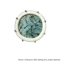winterpond brooch - Barbara Seidenath