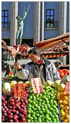 Market vendor, Södermanland, Sweden by miihkali555, via TrekEarth
