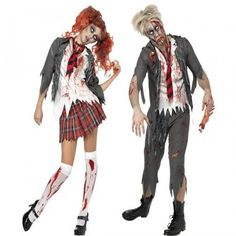 d guisement coli re zombie halloween femme halloween ps et zombies. Black Bedroom Furniture Sets. Home Design Ideas