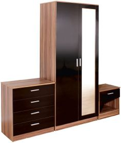 Simplicity meet beauty in this Ottawa piece in black walnut and that too at great prices. It is sturdy as well as practical piece of Modern Bedroom Furniture, Cheap Furniture, Furniture Design, Walnut Furniture, Bedroom Sets, Home Bedroom, Master Bedroom, Bedrooms, 3 Drawer Chest