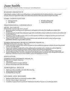 BW Executive Free Ms Word Download  Resume Genius Advanced