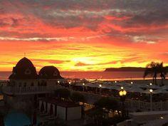 San Diego sunset Hotel Del