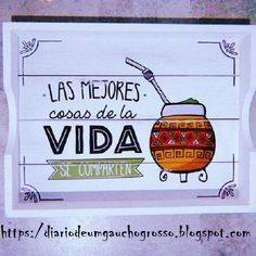 Love Mate, Yerba Mate, Ideas Para, Stencils, Diy And Crafts, Scrapbook, Lettering, Crafty, Projects