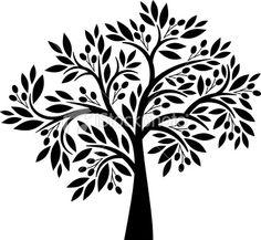 Olive tree Royalty Free Stock Vector Art Illustration #essenzadiriviera