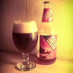 """""""Late Red"""" Craft Beer, Red Wine, Alcoholic Drinks, Glass, Crafts, Liquor Drinks, Manualidades, Drinkware, Handmade Crafts"""