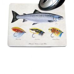The perfect way to bring a little of your passion for fly fishing into the office! Fishing Gifts, Fly Fishing, Mat 10, Salmon Flies, Office Accessories, Stationery, Passion, Stationeries, Stationery Shop