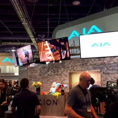 Great to see our friends from AJA at #NABShow today!