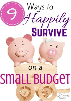 tips to survive on a small budget? DONE! #HeavenlyHavoc saving money, ways to save money
