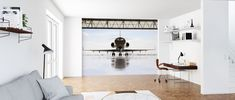 Getting Ready for Take Off – populært fototapet – Photowall Get Ready, Oversized Mirror, Furniture, Home Decor, Decoration Home, Room Decor, Home Furnishings, Home Interior Design, Home Decoration