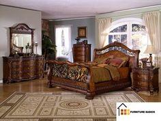 Magnolia Classics 5 Piece Paul Bunyan King Bedroom Set in New ...