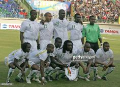 11-04 Senegal's International football team pose before... #coly: 11-04 Senegal's International football team pose before their… #coly