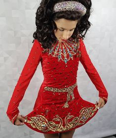 Irish Dance, Dance Dresses, Dance Costumes, Funny Things, Dancing, High Neck Dress, Dresses With Sleeves, Long Sleeve, Life