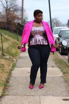 I have that top!  (ASOS last year)  http://grownandcurvywoman.com/2014/12/29/casual-nye/