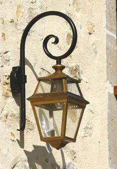 lampe suspendre electrique e 27 fer forg exterieur pouliguen patine ancienne 100 w. Black Bedroom Furniture Sets. Home Design Ideas
