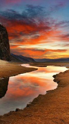 Gobi Desert, Manchuria, China #awesome