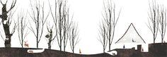 idea section - Weekend House - Sengataki - onishimaki + hyakudayuki