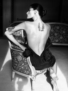 Aline, Crystal, Daria, Freja, Frida, Isabeli, Iselin, Jac, Joan by David Sims for Vogue Paris August 2010