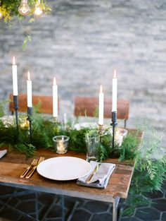 organic, romantic table