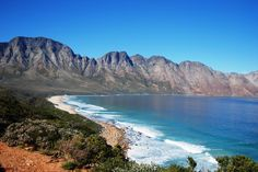 The most beautiful coastal drive in South Africa - Clarence Marine Drive! From here you can spot the awesome Southern Right Whales June-November. Stay at Dreams in Pringle Bay and discover this beautiful area! Cape Town South Africa, My Land, Continents, Cry, Places To Go, Coastal, Beautiful Places, Road Trip, Wanderlust