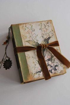 Romántico libro de firmas floral, álbum de fotos, boda de cuento, scrapbook, diario, boda en el campo, libro bebé, libro bocetos. 22x16 cm