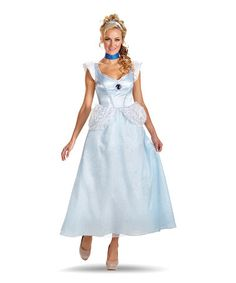Take a look at this Cinderella Deluxe Dress-Up Set - Women by Disguise on #zulily today!