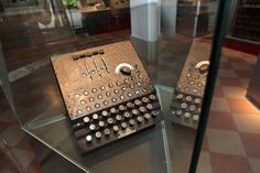 E is for Enigma machine (via MuzejNZS on Twitter) #MuseumABC