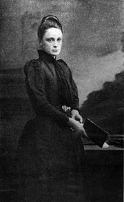 """Margaret Benson (16 June 1865 – May 1916) was an English author and amateur Egyptologist. Margaret was one of the first women to be admitted to Oxford University, where she attended Lady Margaret Hall.    She was the first woman to be granted a concession to excavate in Egypt Lover: Janet """"nettie"""" Gourlay (1863 – 1912)"""