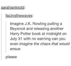 It would be like the purge