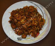 Chatpate Karela Pork, Meat, Kale Stir Fry, Pork Chops