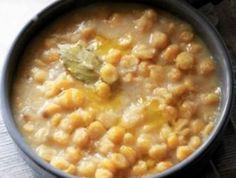Σιφναίικη ρεβιθάδα - η παραδοσιακή συνταγή της Σίφνου Cheeseburger Chowder, Soup, Soups