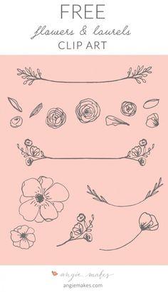 Free Laurel Clip Art | angiemakes.com