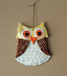 that artist woman: How to Make a Clay Owl