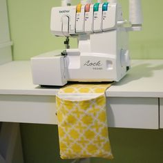 Today I'd like to share a very useful tutorial for those of you who sew. I'm also linking up to Young House Love and Bower Power's  Pin...