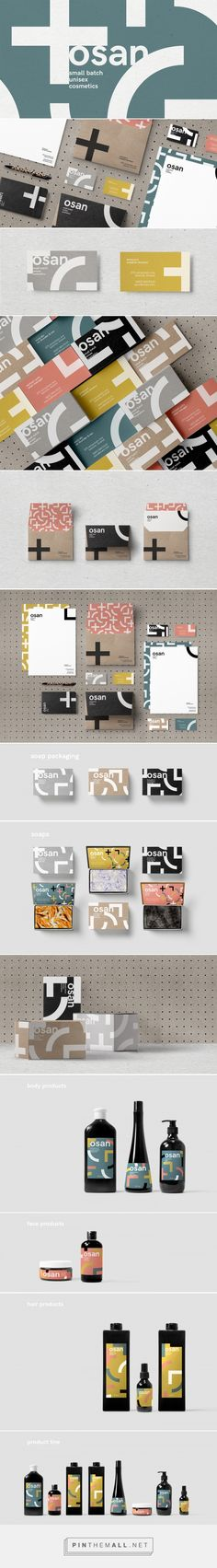 Osan Cosmetics Branding by Ronnie Alley | Fivestar Branding Agency – Design and Branding Agency & Curated Inspiration Gallery