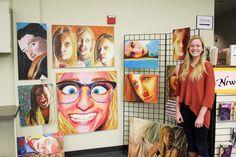Lakeridge High School Visual Art Visual Art Lessons, Visual Arts, High School Art Projects, Ap Studio Art, Art Curriculum, Middle School Art, Ap Art, Elements Of Art, Mural Art