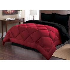 Sweet Home Collection Goose Alternative Down Comforter Set | Wayfair