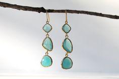 mint blue opal, such a beautiful stone!