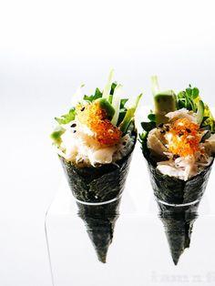 mini califorina cones - www.iamafoodblog.com