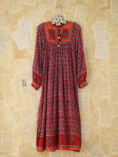 Free People Vintage Printed Indian Dress MAKE MONEY ONLINE NOW! http://bigideamastermind.com/bimstorm?id=moemoney24