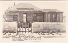 RP, LANGTRY , Texas , 30-40s Judge Roy Bean Court