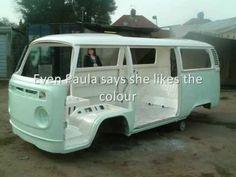 VW Camper The Making of Priscilla